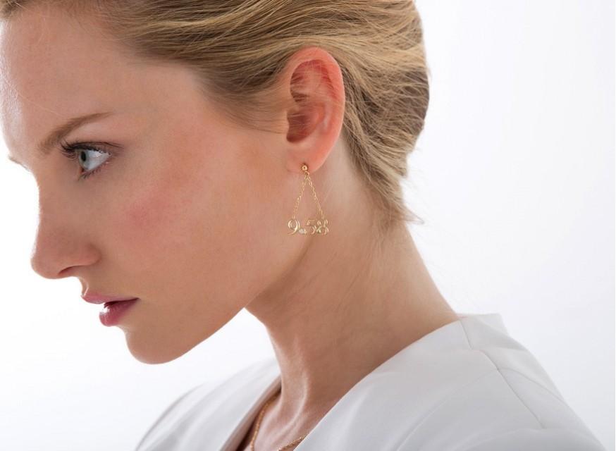 Boucles d'oreilles 9.58